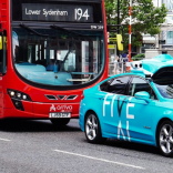 Photo of FiveAI self-driving car on streets of London.
