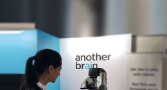 picture of woman using an AnotherBrain device