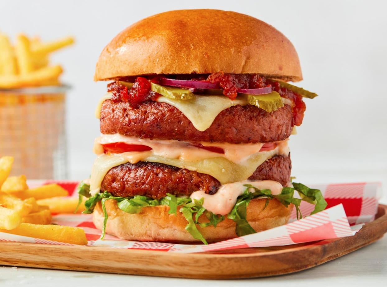 meatless burger