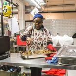 Photo of kitchen rental startup Karma Kitchen with chef from One Luv