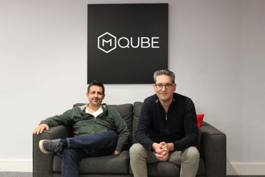 Stuart Cheetham and Richard Fitch, cofounders of M:Qube
