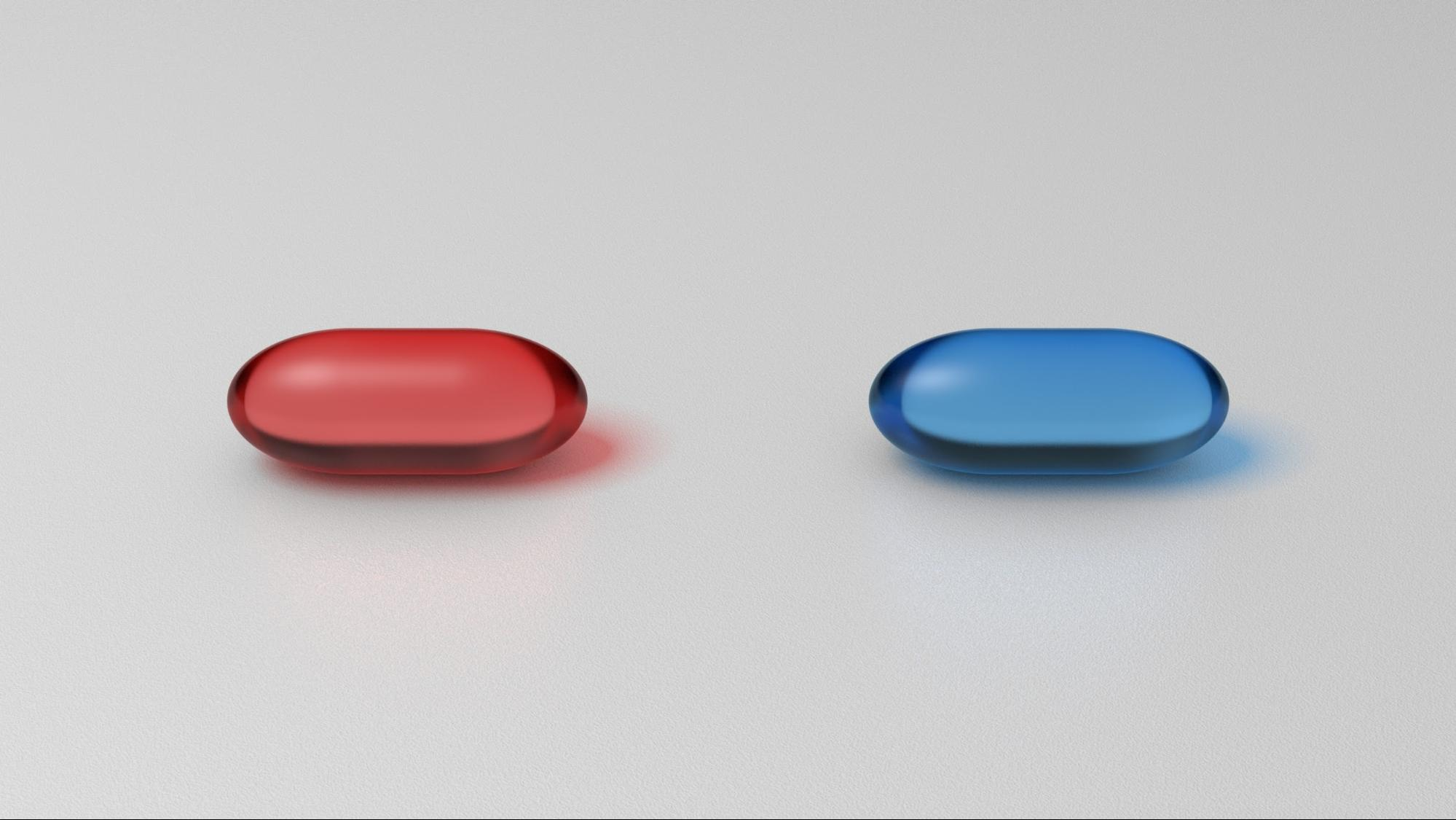 Red and blue pills