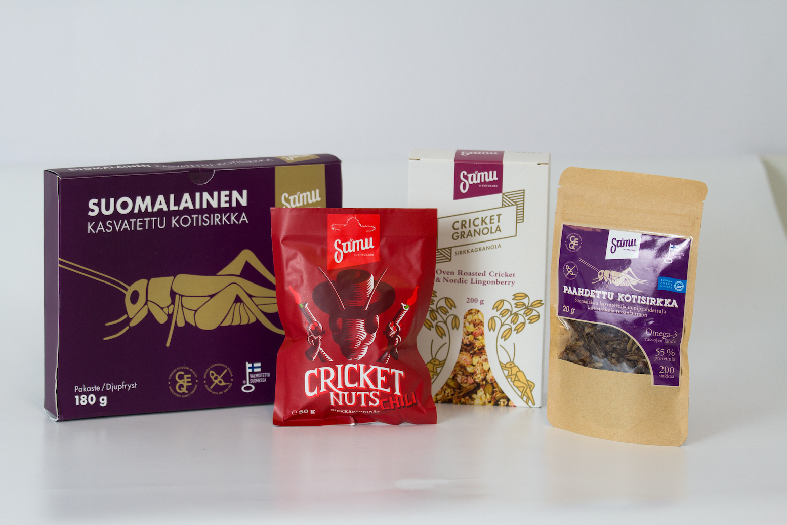 Picture of some of EntoCube's products