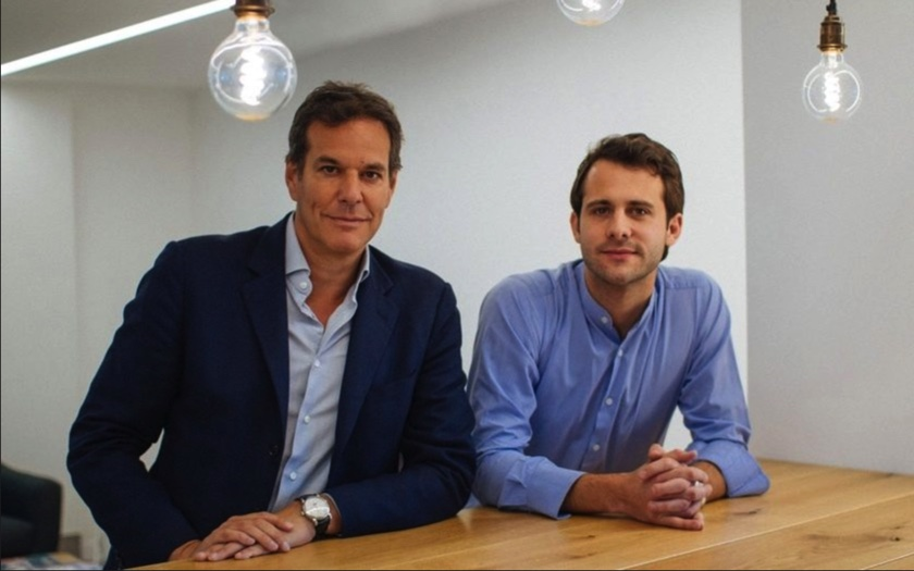 Photo of First Minute Capital co-founders, Spencer Crawley and Brent Hoberman