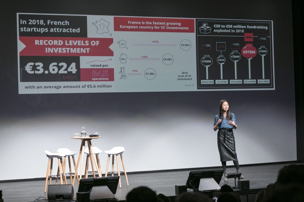 Photo of Kat Borlongan at the French Tech Summit 2019 ©Arnaud CAILLOU - L'Oeil Témoin