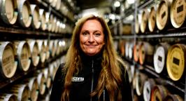 Angela D'Orazio, masterblender at Mackmyra