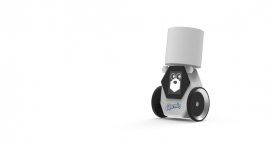 Toilet paper delivery robot
