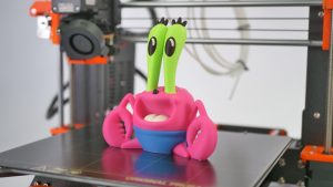 Mr. Krabs print from the MMU 2.0 beta.