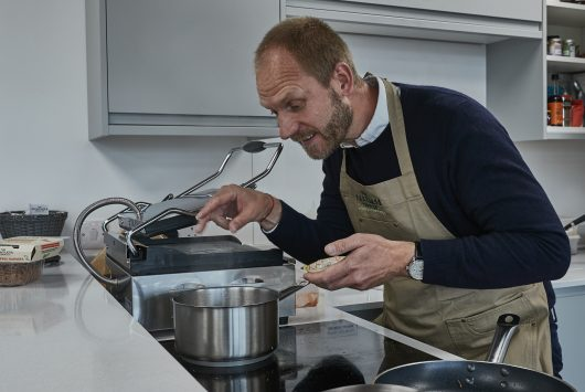 Photo of Meatless Farm founder Morten Toft Bech