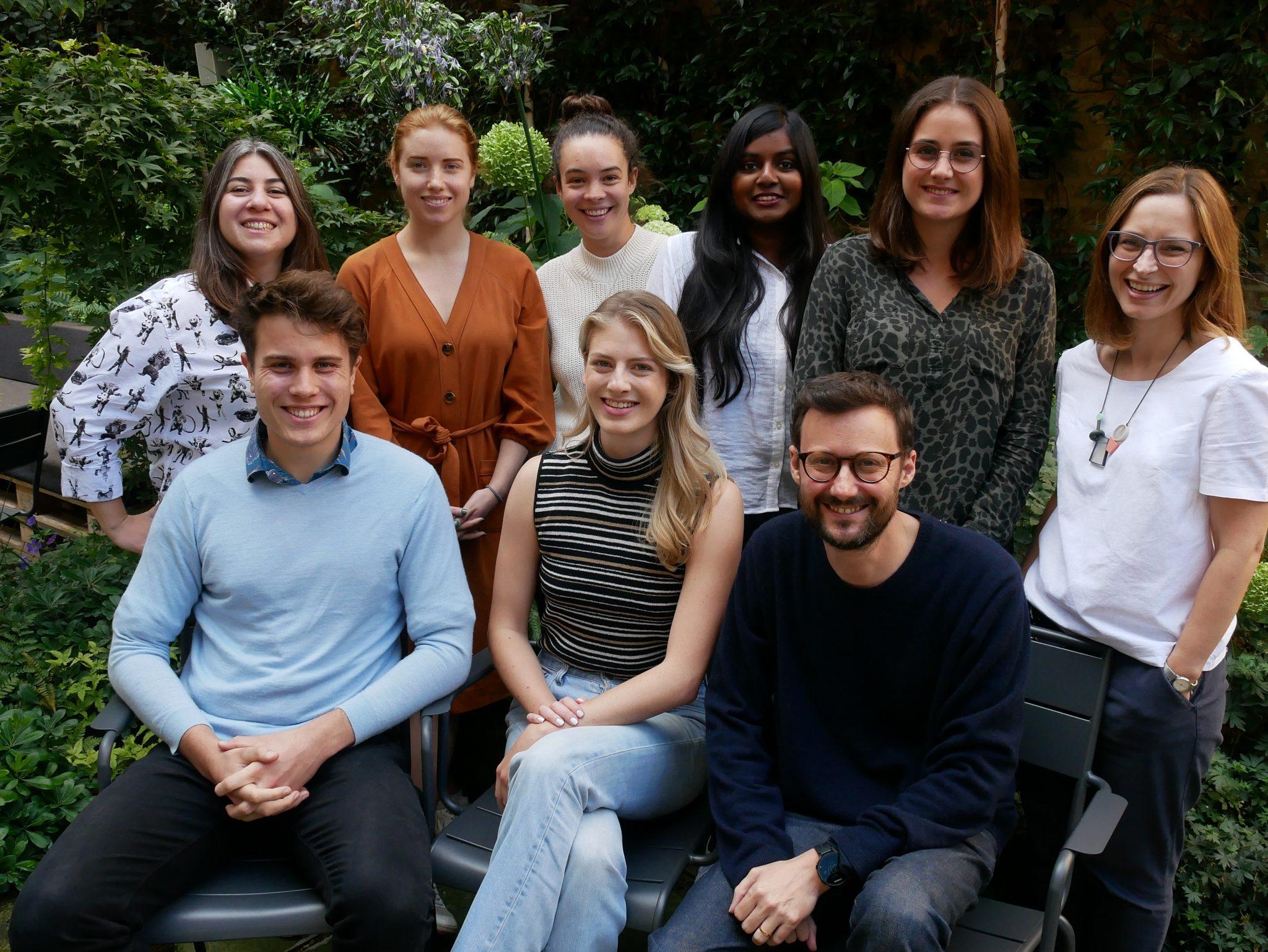 Bethnal Green Ventures Team photo
