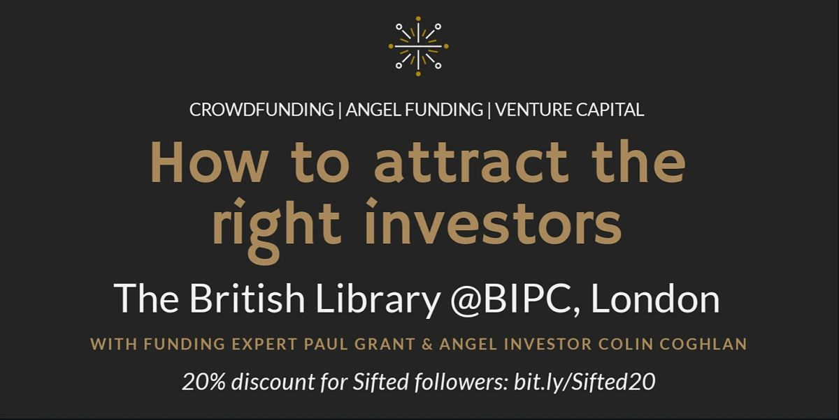 How to Attract the Right Investors header image'