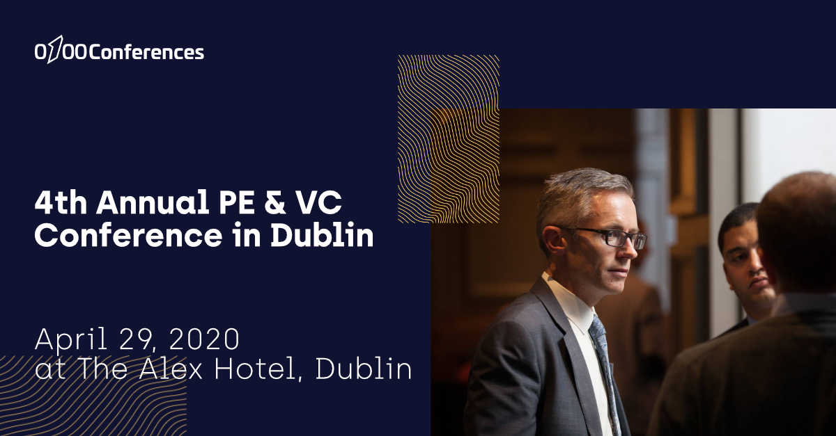 4th Annual PE & VC Conference in Dublin header image'