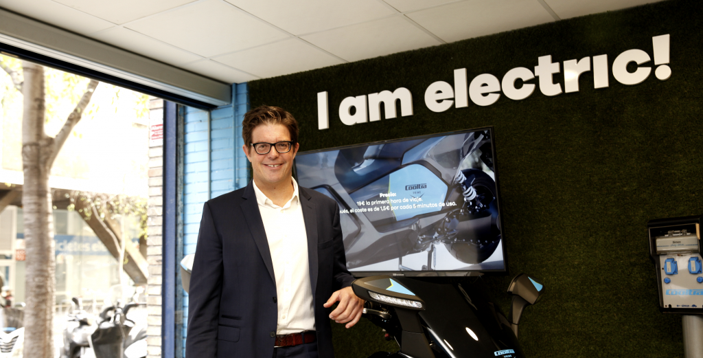 Cooltra CEO and cofounder Timo Buetefisch