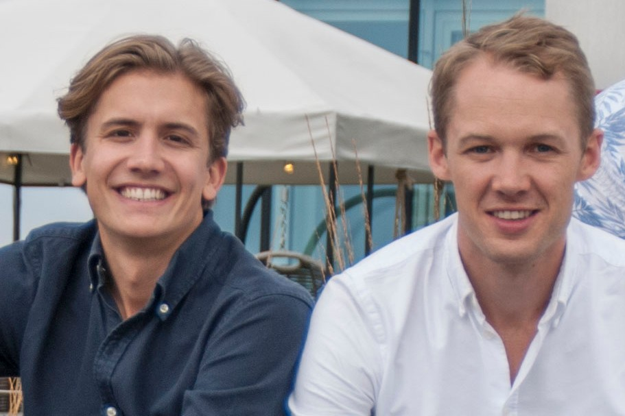 Ahum founders Fredrik Sandin (right) and Johan Thuresson.