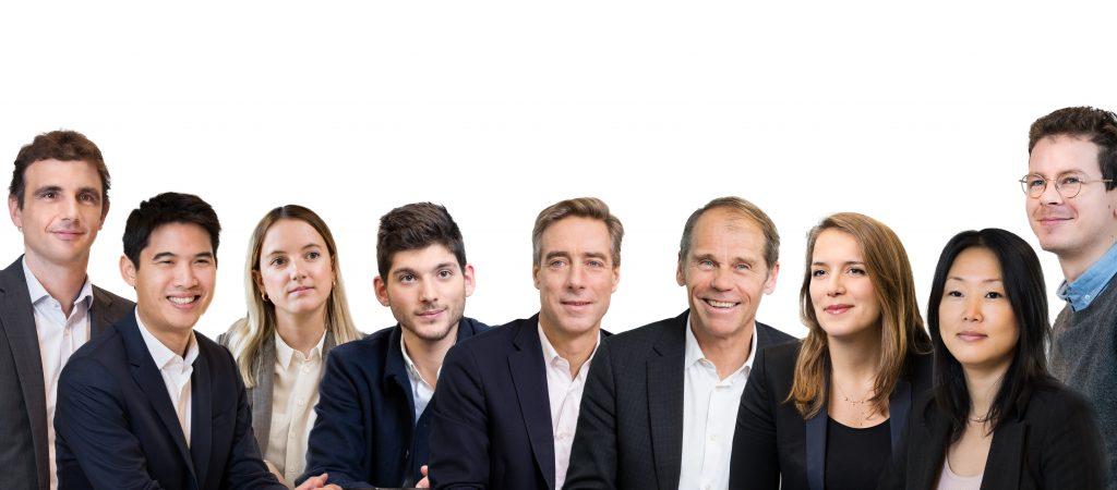 Photo of The IdInvest venture team