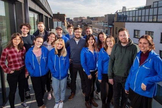 Photo of travel tech startup Impala's team