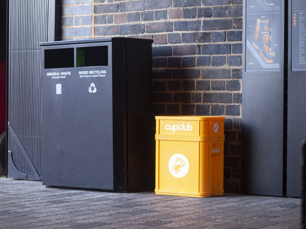 Photo of A CupClub drop-off point in London
