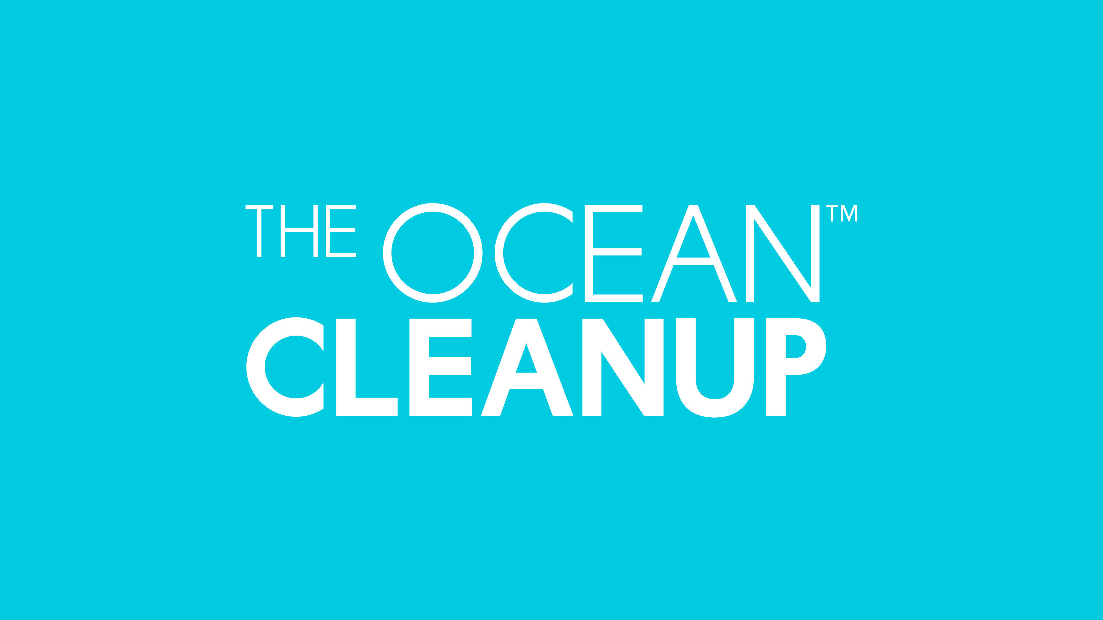 The Ocean Cleanup's logo