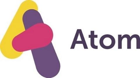 Atom Bank's logo