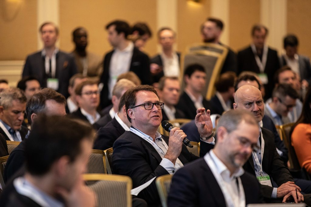 Photo of Attendees at Berlin conference SuperVenture 2020