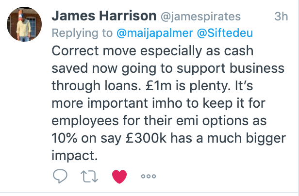 James Harrison tweet