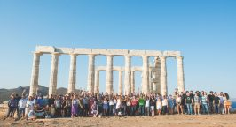 Photo of the Workable team in Greece
