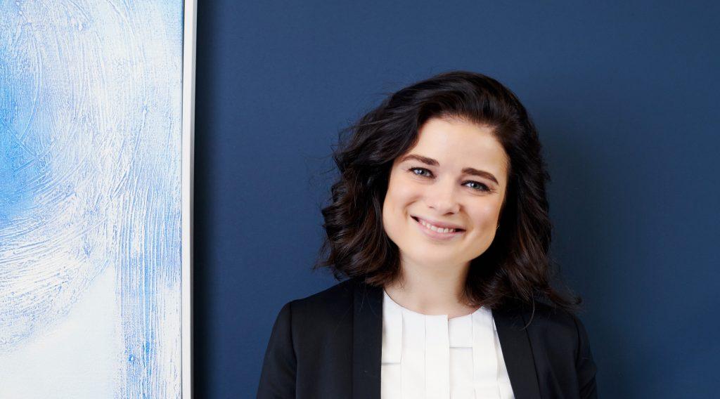 Photo of Evgenia Plotnikova, partner at Dawn