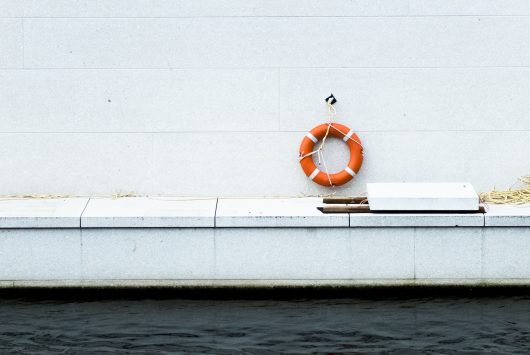 Unsplash photo by Katja-Anna Krug of life buoy