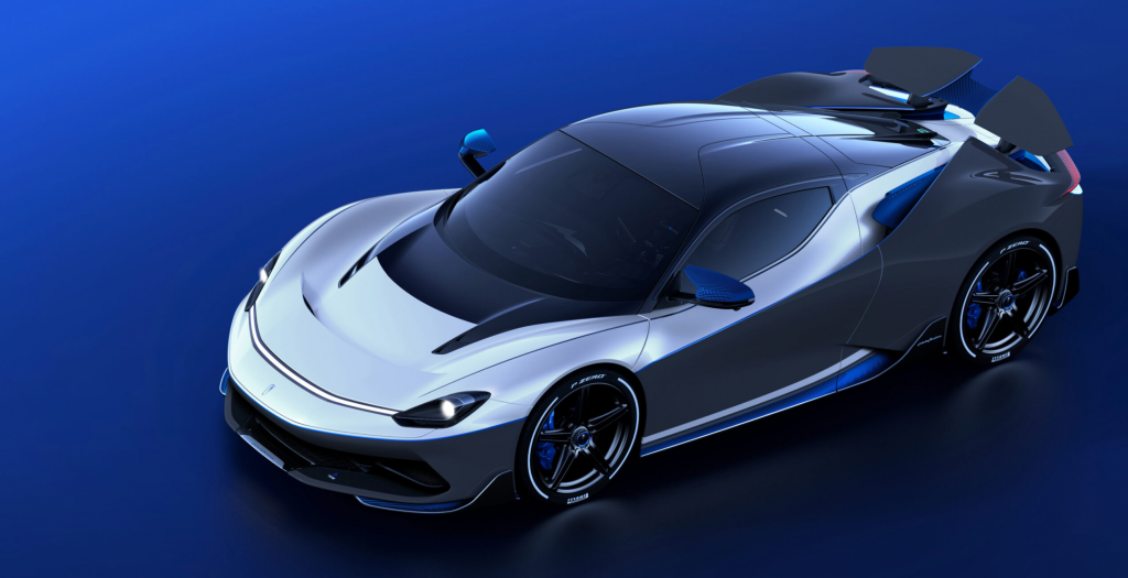 Picture of the Pininfarina Battista Anniversario hypercar