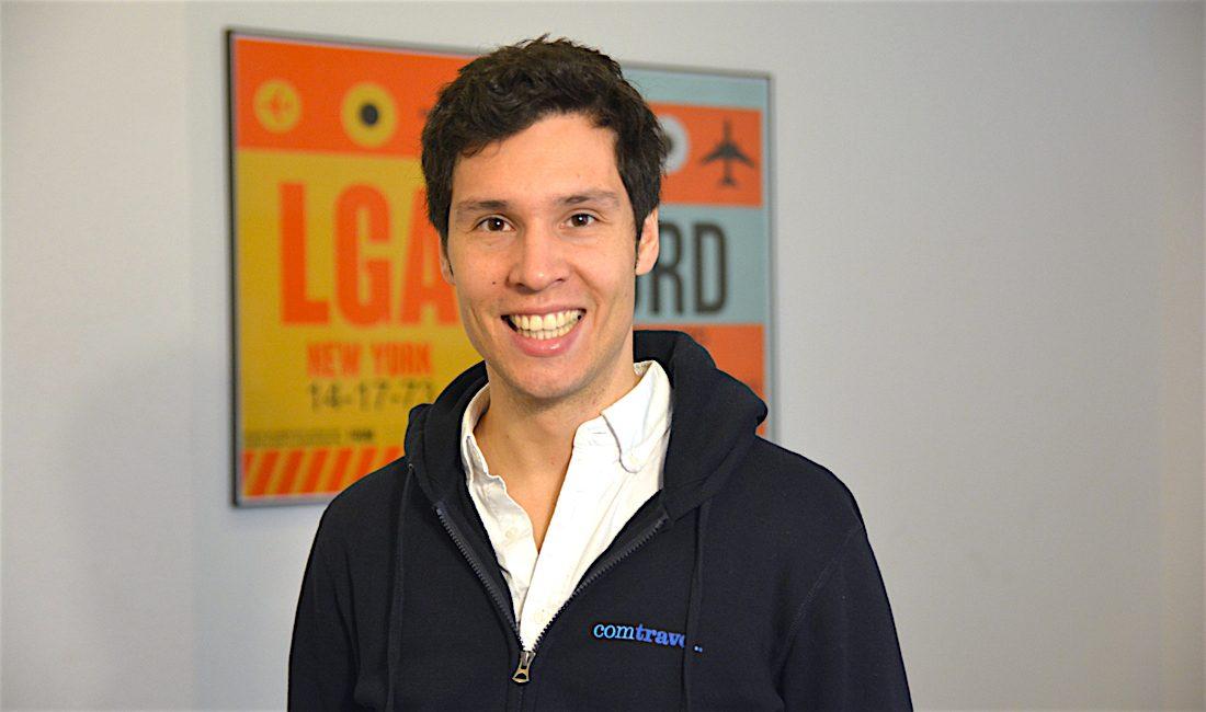 Comtravo founder Michael Riegel
