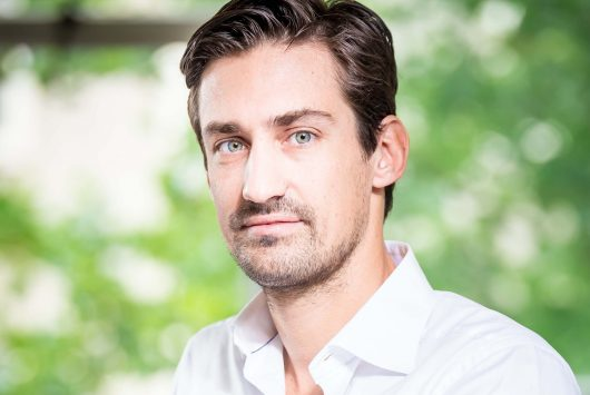 Photo of Guillaume Pousaz, founder and CEO of Checkout.com