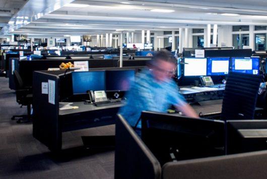Picture of Copenhagen's emergency call centre