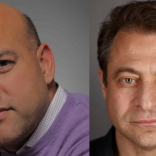 Headshots of Salim Ismail and Peter Diamandis