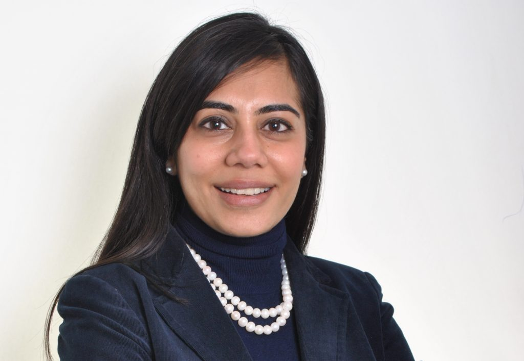 Photo of Deepali Nangia, angel investor