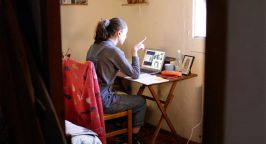 Harriet Farnham teaching