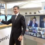 Initiation of Pexip being listed on the stock exchange, virtual bell ceremony