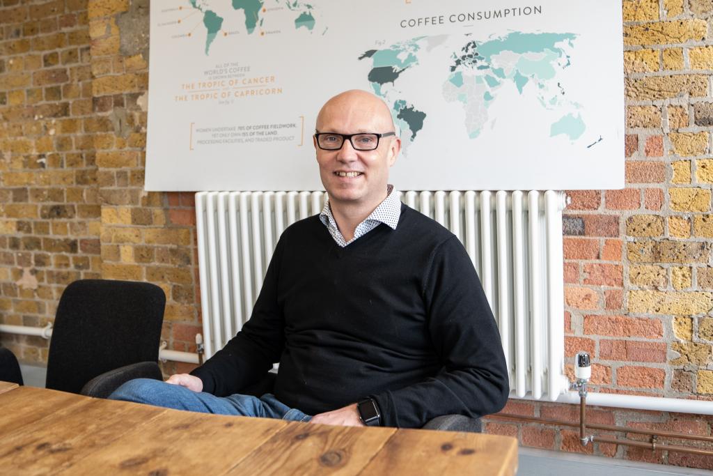 Paul Turton CEO of Pact Coffee
