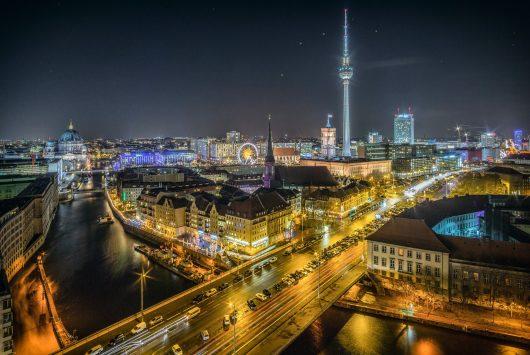 Teaser imagery for Berlin startups
