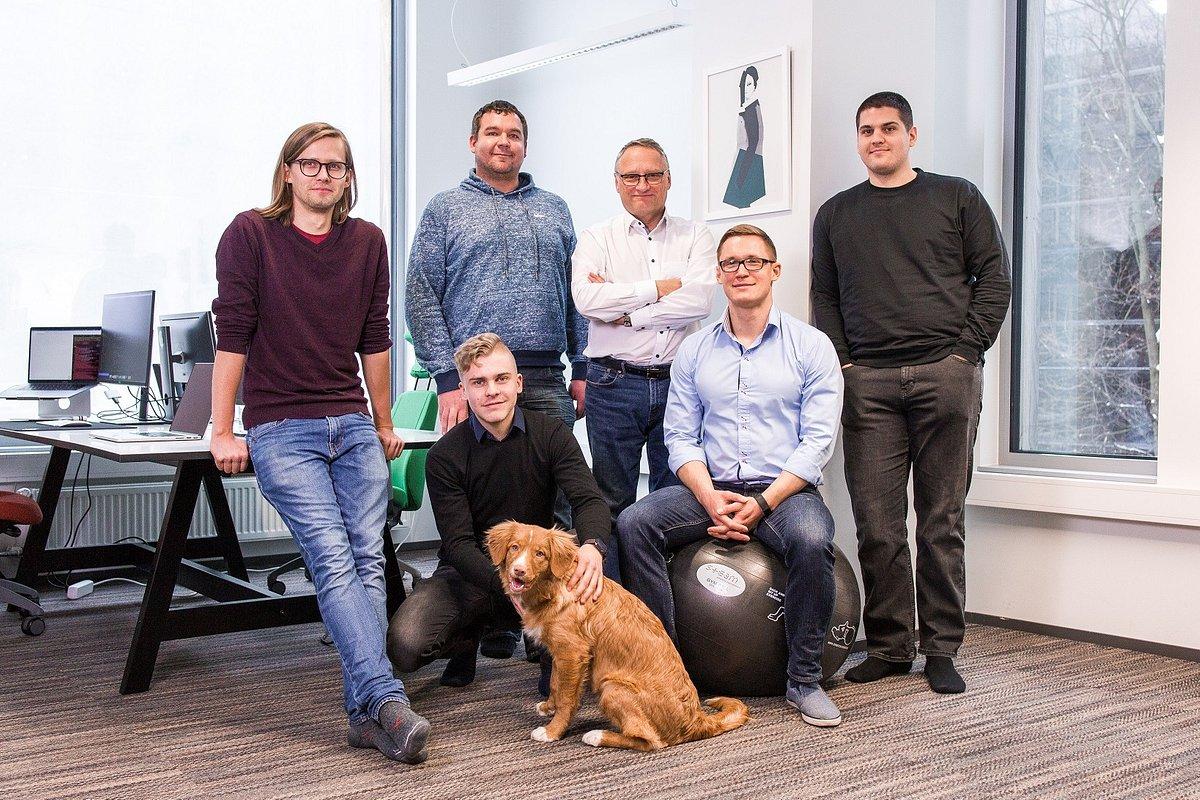 Teamscope team, portfolio company of Polish seed VC Black Pearls
