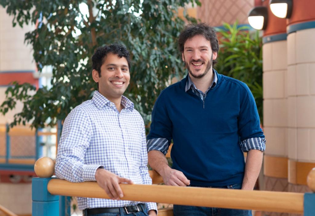 Spotta co-founders Neil D'Souza-Mathew and Robert Fryers