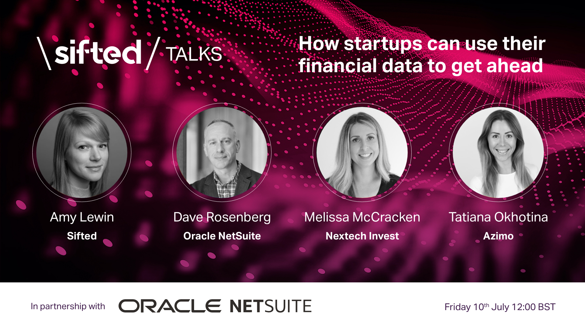 How startups can use their financial data to get ahead event promo image