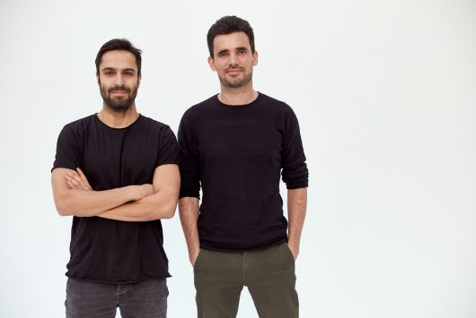A photo of Voodoo founders Alexandre Yazdi and Laurent Ritter