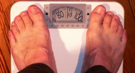 Picture of feet standing on scales