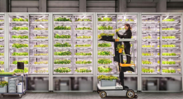 Infarm Vertical Farming net zero
