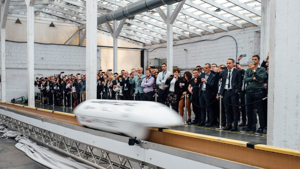 Model maglev train from Hyper Poland