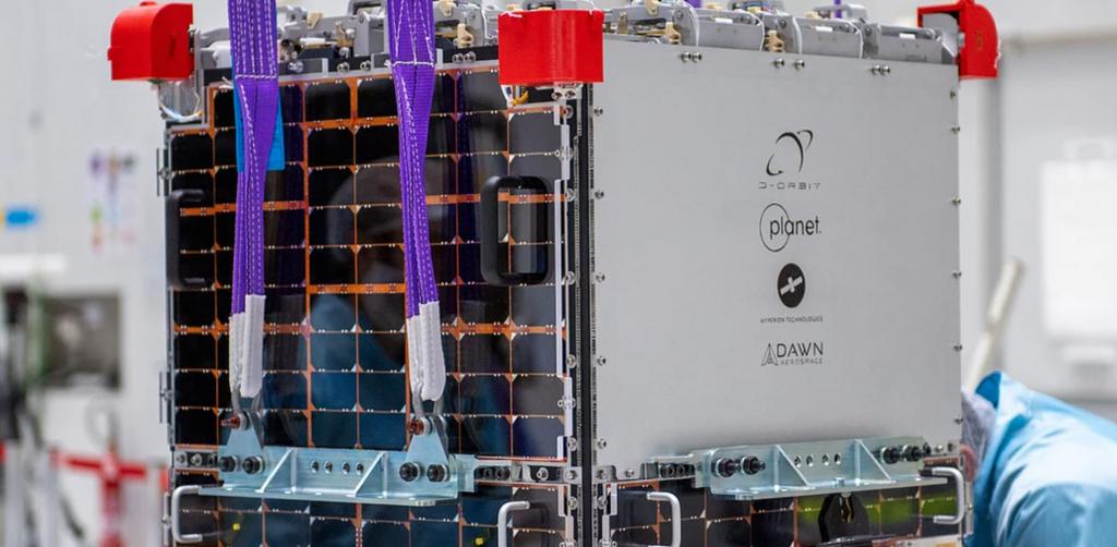 D-Orbit satellite