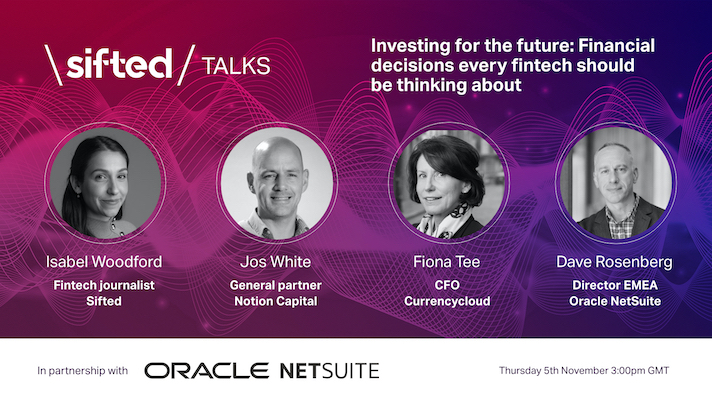Investing for the Future: Financial decisions every fintech should be thinking about event promo image