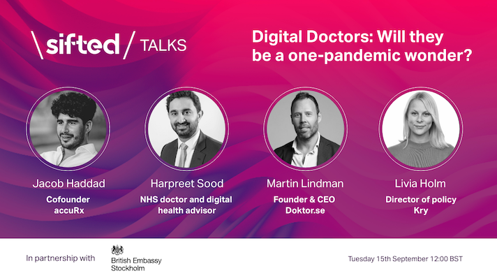 Digital Doctors: Will they be a one-pandemic wonder? event promo image