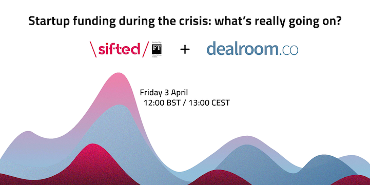 Startup funding during the crisis: what's really going on? event promo image