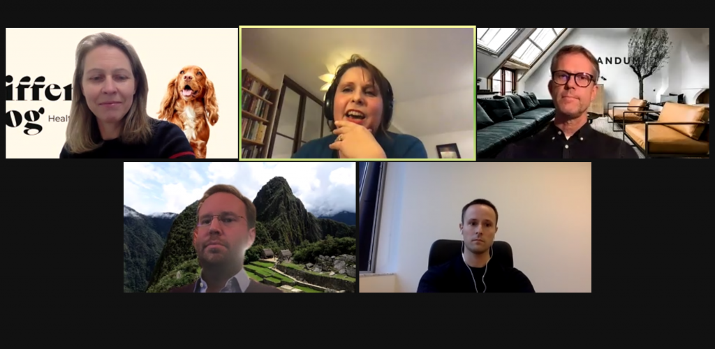 Screengrab from Sifted Pet Tech webinar